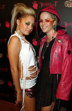 Nicole Richie and an almost-unrecognizable Taryn Manning attended a Halloween party together in October 2003.