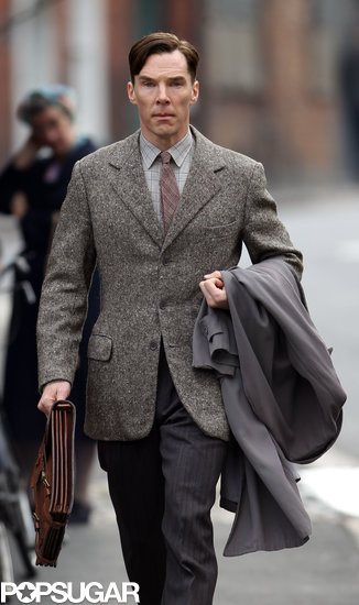 Benedict Cumberbatch filmed scenes for a new World War II-era film.