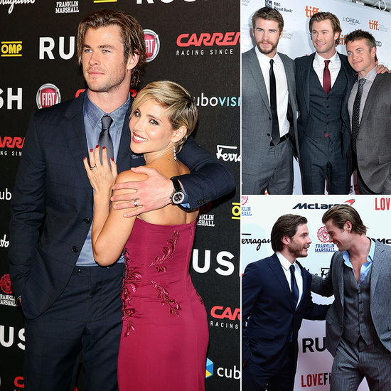 Go On the Rush Press Tour With Handsome Chris Hemsworth