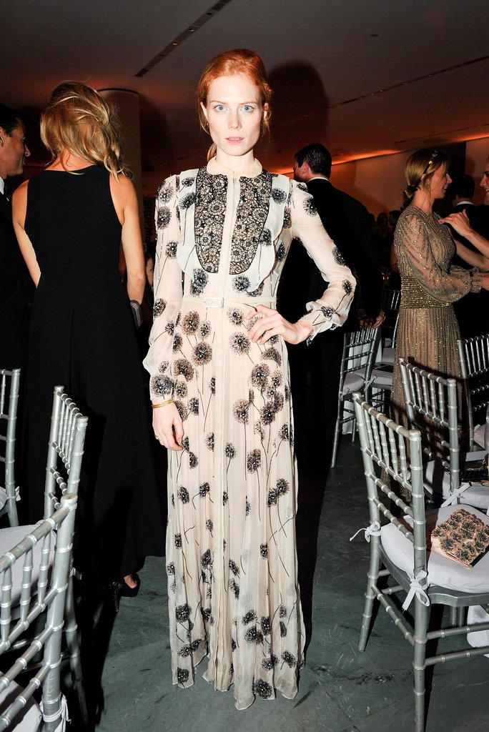 Jessica Joffe stepped out in a printed gown for the Brazil Foundation's MoMA event.
