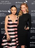 China Chow joined a Stella McCartney-clad Kate Bosworth in San Francisco for the Bulgari retrospective at the M.H. de Young Memorial Museum.