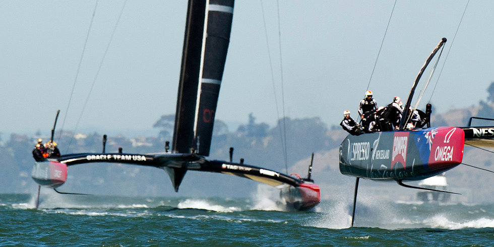 The Science of Sailing: Behind the Bow of a Racing Catamaran