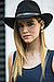 Chiara Ferragni looked gorgeous with straight hair, bold brows, and a cute chapeau. 