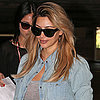 Kim Kardashian With Blond Hair in LA | Pictures