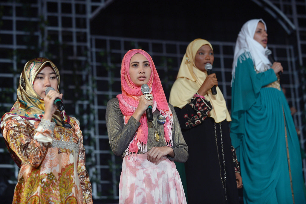Contestants from Brunei, Nigeria, and Iran took part in rehearsals ahead of the finale.