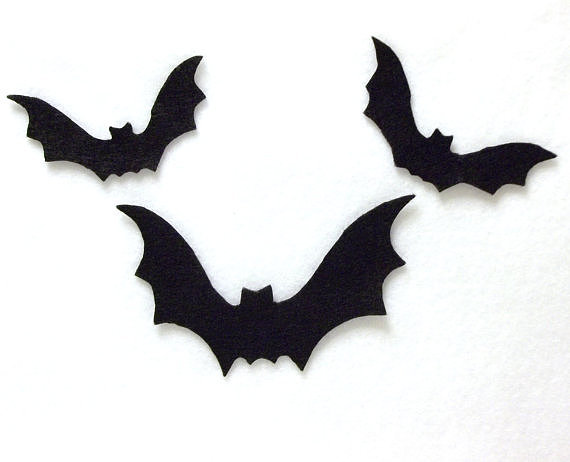Fitting for both crafts and decor, these felt bats ($7) can be used just about anywhere.
