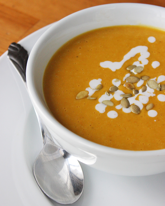 Healthy Pumpkin Soup Recipe | POPSUGAR Fitness