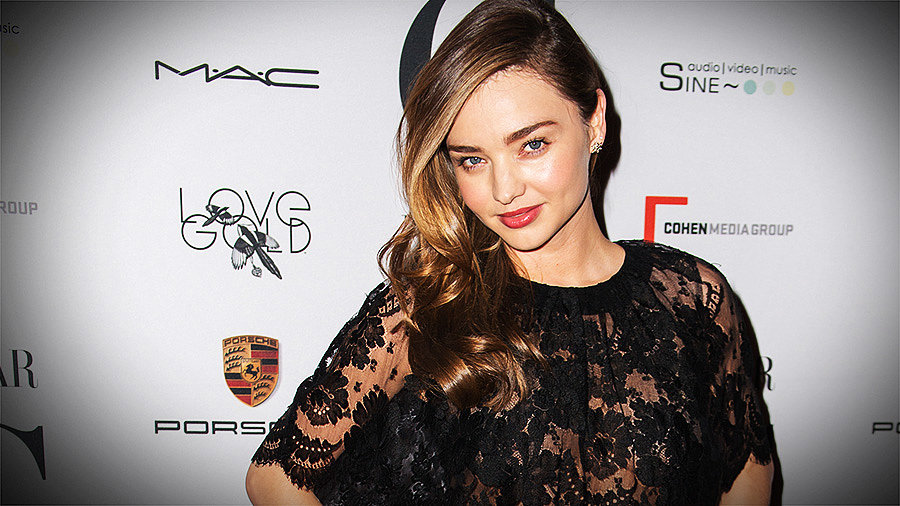 Miranda Kerr Talks About Working With a Fashion Legend