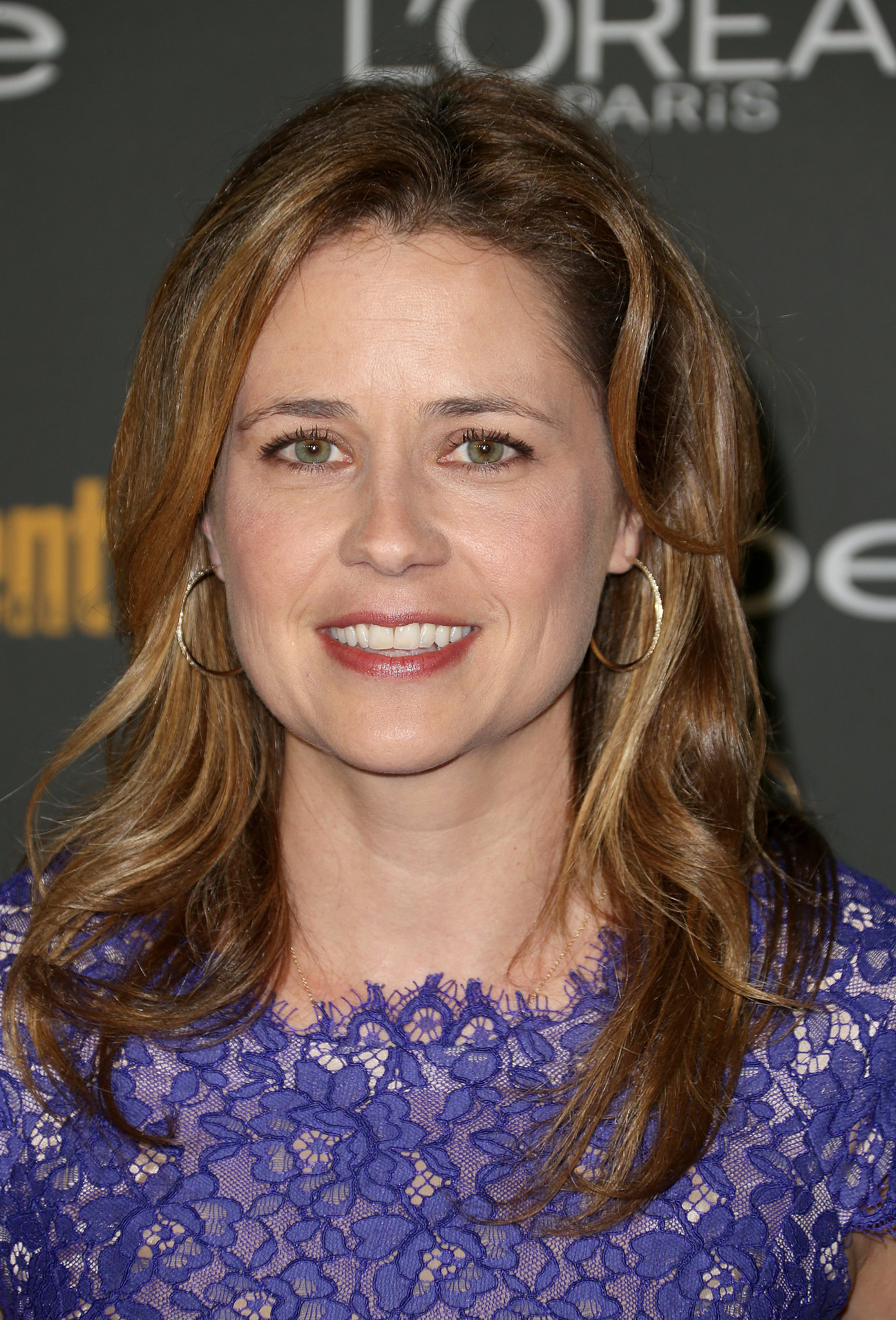 Jenna Fischer kept this easy and breezy at Ente