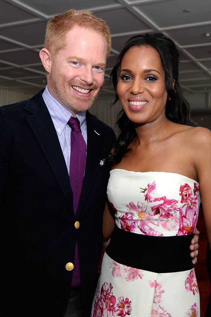 Kerry Washington chatted with Jesse Tyler Ferguson.