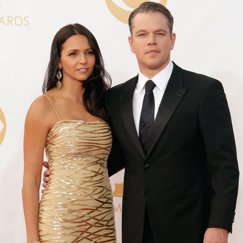Matt Damon Pictures at 2013 Emmy Awards
