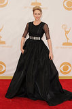 The LBD wasn't so little in Vera Farmiga's iteration. The actress chose a full skirted gown with sheer elbow-length sleeves and Fred Leighton jewelry.