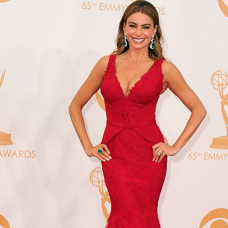 Sofia Vergara Dress at Emmys 2013 | Pictures