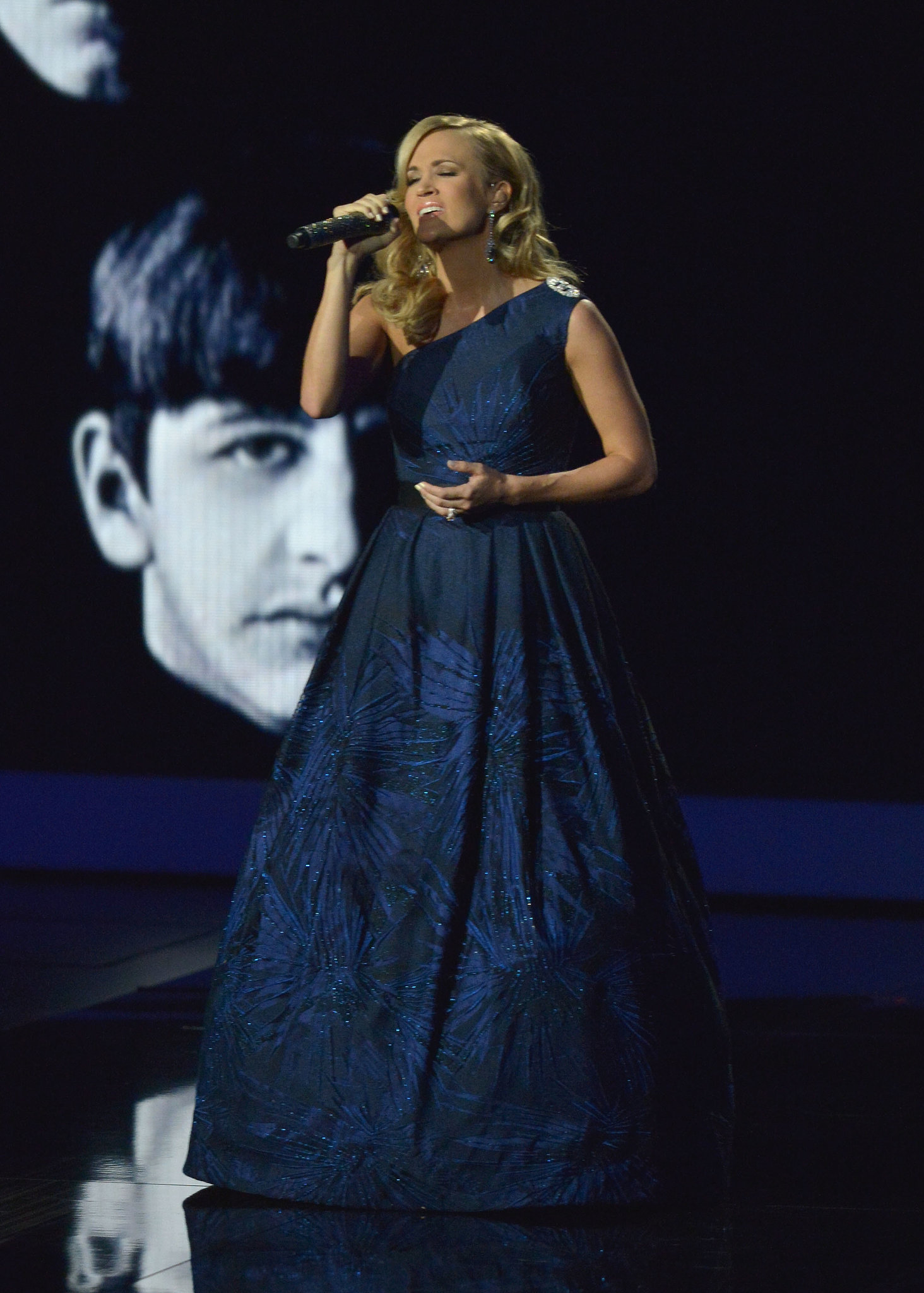 Carrie Underwood sang a Beatles song to commemorate their first performance on The Ed Sulli
