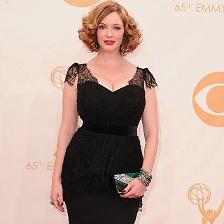 Christina Hendricks Dress at Emmys 2013 | Pictures
