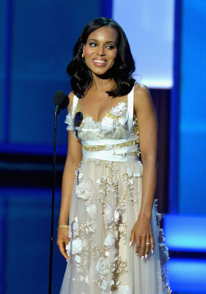 Kerry Washington spoke onstage.