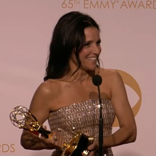 Julia Louis-Dreyfus Emmy Awards Press Room | Video