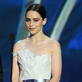 Emilia Clarke Dress at Emmys 2013 | Pictures