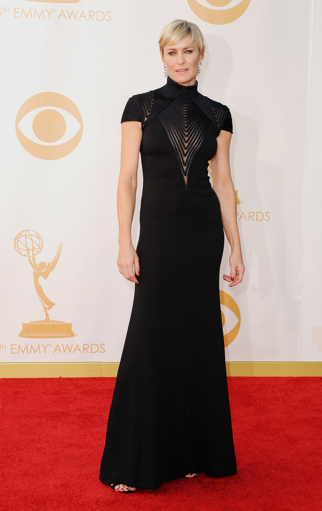 Robin Wright's Ralph Lauren Collection gown was among the most elegant of the evening.