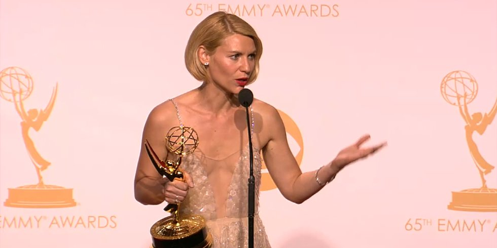 Claire Danes Hopes Her Baby Doesn't Get Impaled by Her Emmy