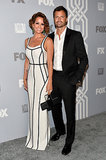 Brooke Burke-Charvet and her husband, David Charvet, paired up at the Fox Emmys afterparty.