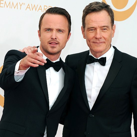 Breaking Bad Cast Pictures at 2013 Emmy Awards