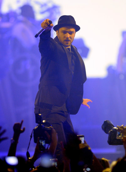 Justin Timberlake took over the stage.