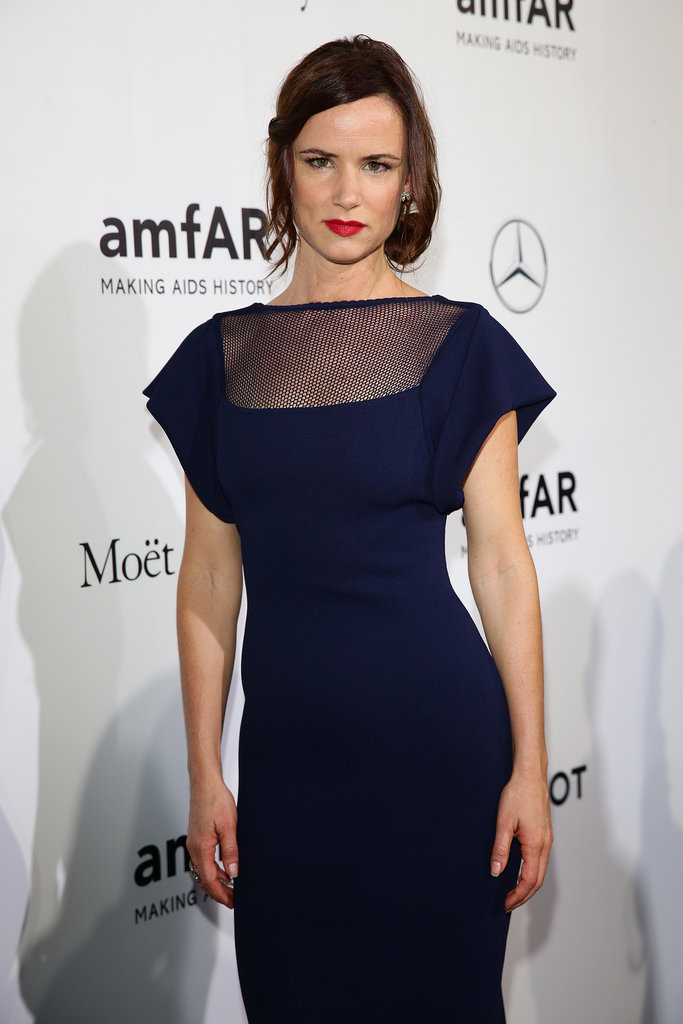 Juliette Lewis at the amfAR Milano Gala.