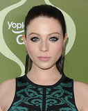 Black eyeliner, a sleek ponytail, and a pretty pink put made up the essentials in Michelle Trachtenberg's look for the Variety Pre-Emmy Party.