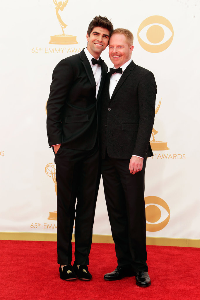 Modern Family's Jesse Tyler Ferguson posed with his husband, Justin Mikita, on the red carpet.
