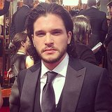 Game of Thrones star Kit Harington looked handsome on the red carpet. Source: Instagram user primetimeemmys