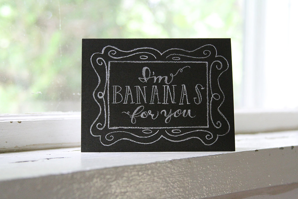 I'm bananas for you ($4)