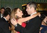 Sofia Vergara draped herself over her fiancé.