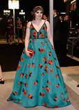 Lena Dunham attended the 2013 Emmys Governors Ball.