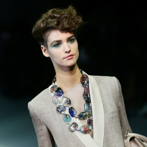 Giorgio Armani Beauty at 2014 Spring Milan Fashion Week