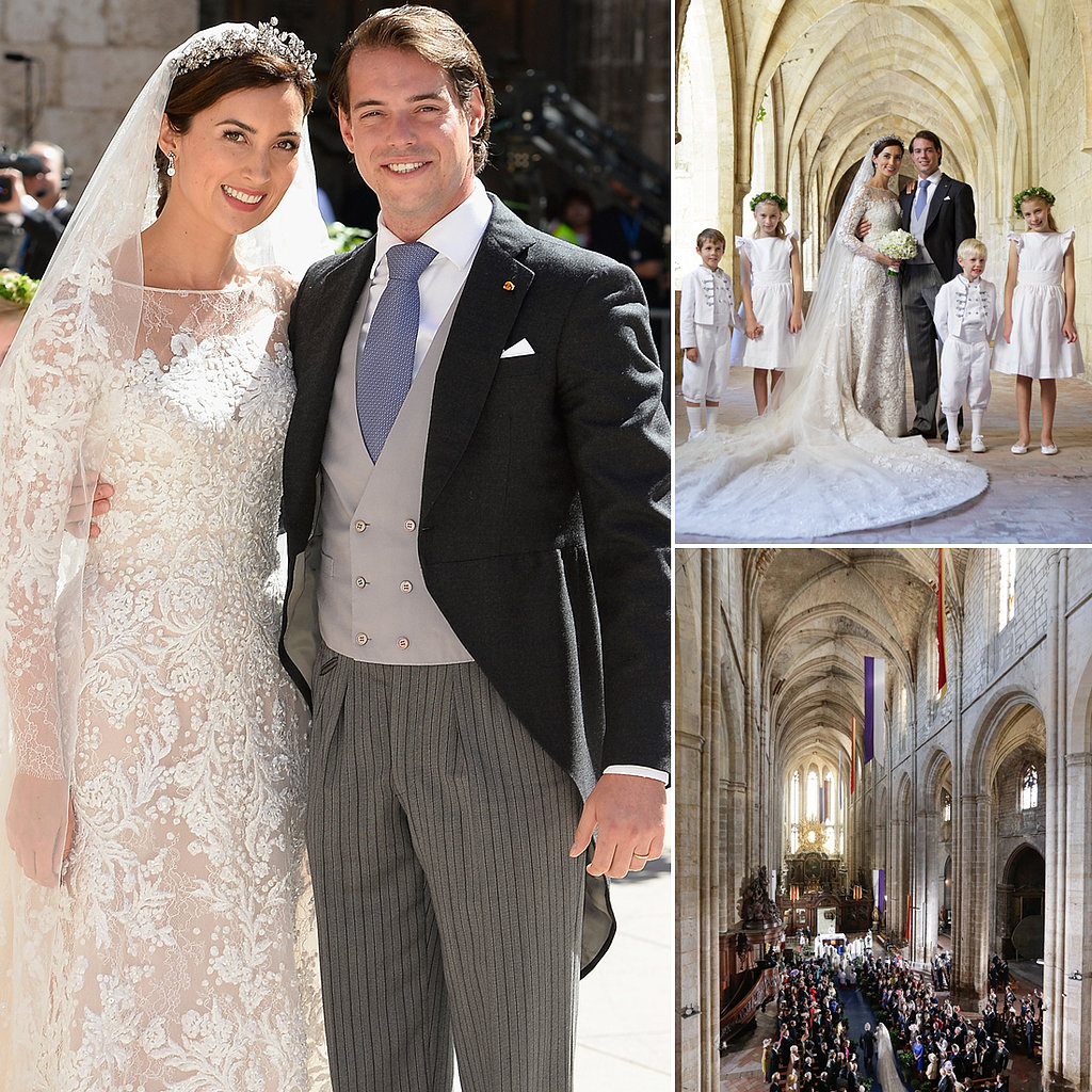 Royals Gather For a Fairy-Tale Wedding in France