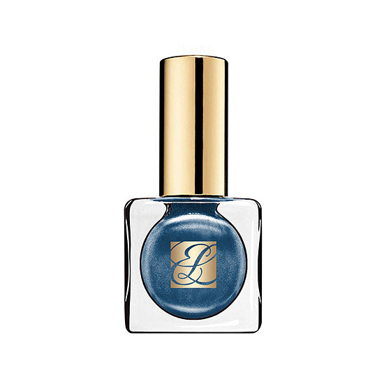 Trade in your turquoise polish of Summer for Estée Lauder Midnight Metal ($20), a jewel-toned blue.