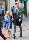 Heidi Klum spent a day shopping at LA's The Grove shopping center with Leni Samuel.