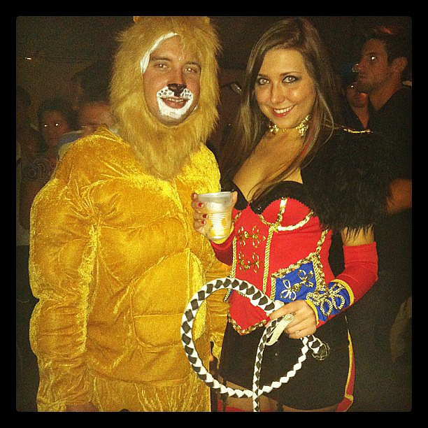 Ringmaster and Lion