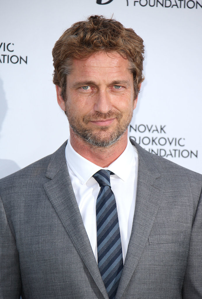 Gerard Butler: The Salt-and-Pepper Beard