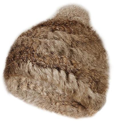 MILESTONE Pelz-Mütze Birla MILESTONE Fellmütze beige