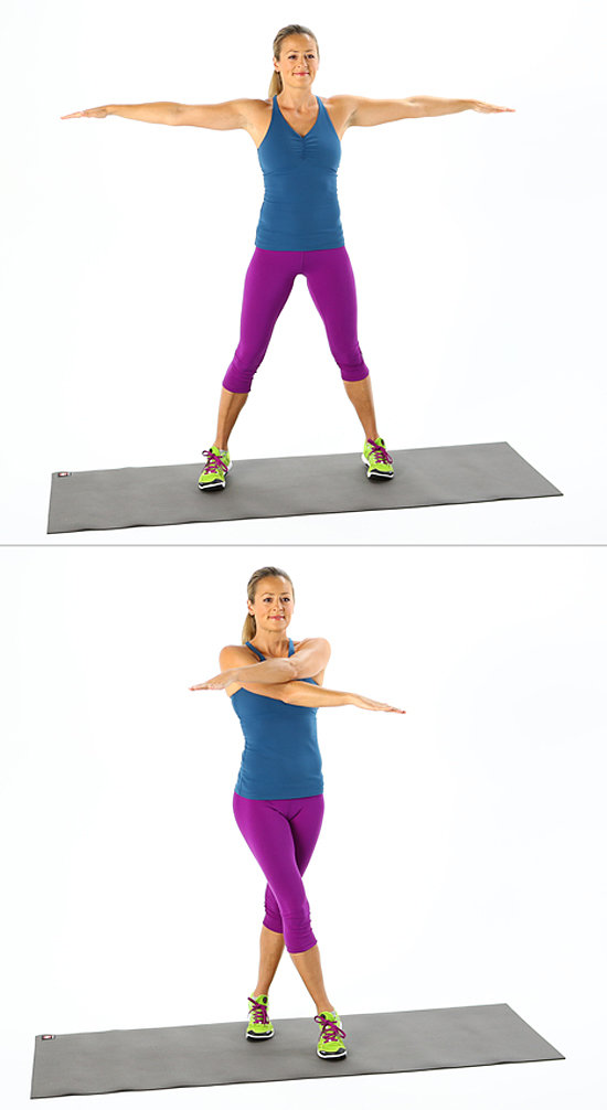 Plyometrics: Cross Jacks