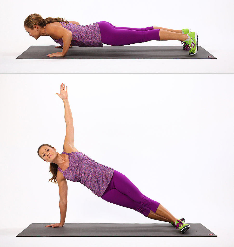 Core: T Push-Up