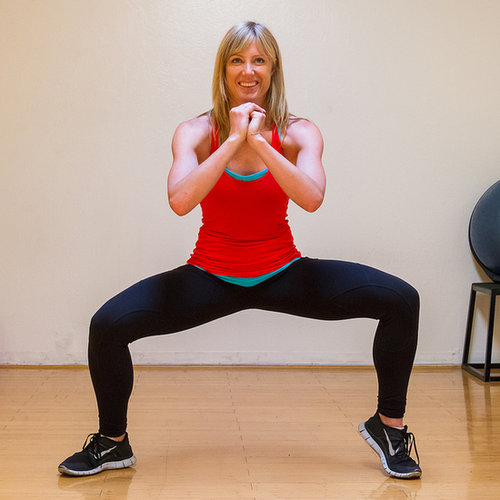 Lower Body: Wide Squat With Calf Raises