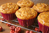 Pumpkin: Pumpkin Chocolate Chip Cupcakes