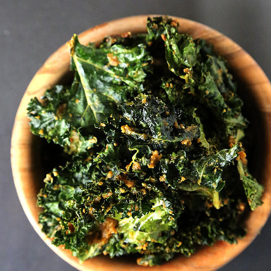 Kale: Cheesy Kale Chips