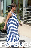 Pregnant Halle Berry went to Jamba Juice.