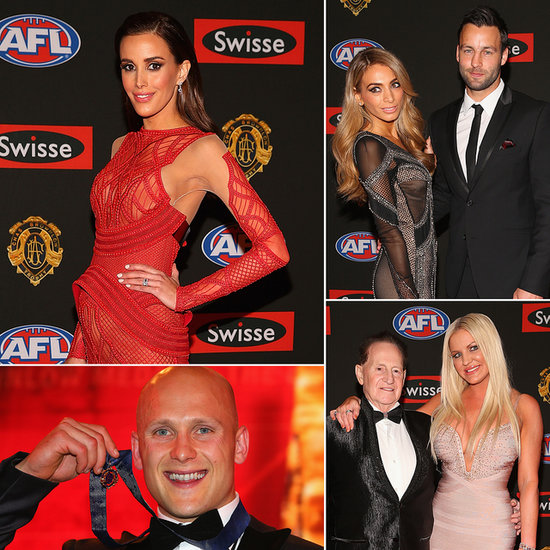 2013 Brownlow Medal: Gary Ablett Wins as AFL WAGs Hit the Red Carpet