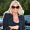 Jessica Simpson With Maxwell and Eric Johnson in LA