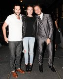 Phil Winser and Dree Hemingway joined Derek Blasberg for his Paperless Post launch event at Hogs & Heifers.